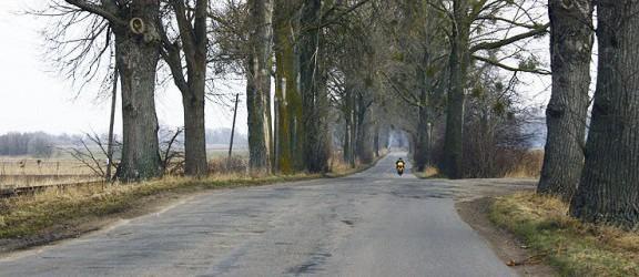 Od piątku zamknięte trzy odcinki drogi do Tolkmicka