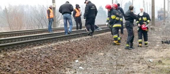 Po wypadku utrudnienia na linii kolejowej Olsztyn-Elbląg