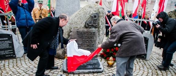 Narodowy Dzień Pamięci Żołnierzy Wyklętych. Odsłonięcie tablicy pamiątkowej