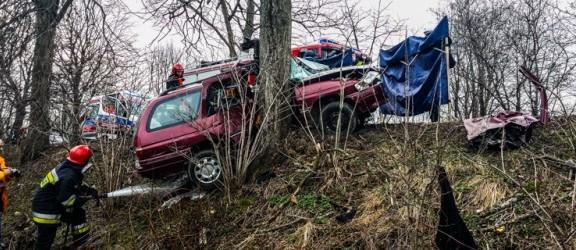 Tragiczny wypadek na drodze w kierunku Tolkmicka! Jedna osoba nie żyje!