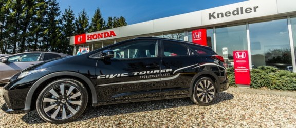 Nowa Honda Civic Tourer już dostępna u elbląskiego dealera. Zobacz prezentację nowego modelu