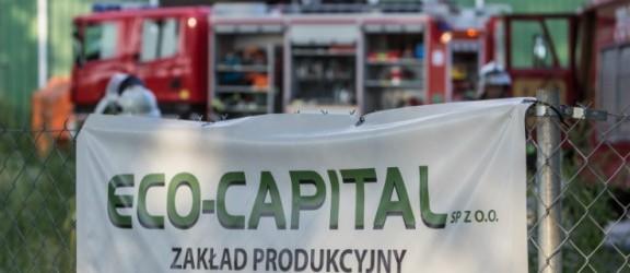 Firma Eco Capital o pożarze na budowie zakładu
