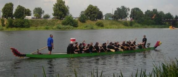 Wyścigi smoczych łodzi w Elblągu