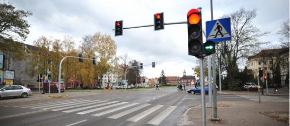 Skrzyżowanie Rycerskiej z Giermków łatwiejsze dla kierowców
