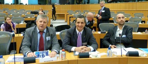 O polskich rzekach w Brukseli