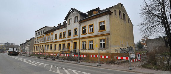 Rusza rozbiórka pierwszych budynków na Browarnej