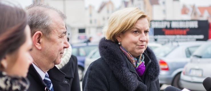 Jerzy Wilk z poparciem europosła Anny Fotygi