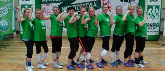 Siatkarki AZS PWSZ wróciły z Wrocławia z medalami