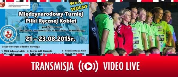 Międzynarodowy turniej piłki ręcznej LIVE na Youtube