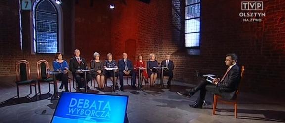 Czwartkowy felieton: pierwsza debata kandydatów do Sejmu z Elbląga była... nudna!