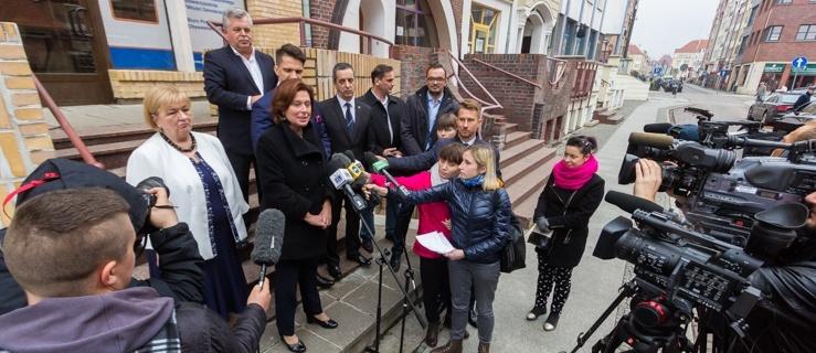 Marszałek Sejmu odwiedziła Elbląg. Popiera kandydatów Platformy Obywatelskiej