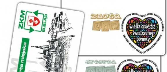 ZKM dla WOŚP. Zobacz specjalne edycje Elbląskiej Karty Miejskiej
