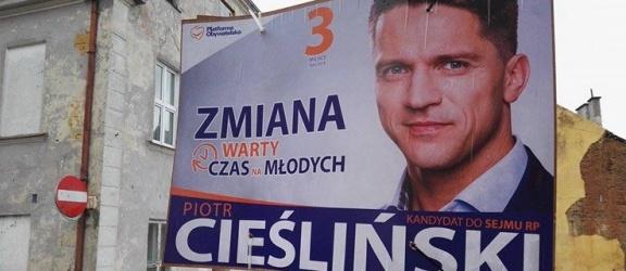 Daj znać: Piotr Cieśliński na bakier z prawem