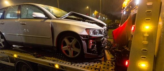 Niebezpieczne zderzenie na skrzyżowaniu Grunwaldzkiej z Grottgera