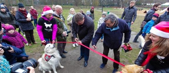 Wiele hałasu o nic. Park dla psów oficjalnie otwarty! (zdjęcia i video)