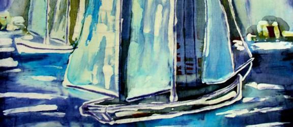 Tkaniny woskiem malowane. Warsztaty batiku w Markusach, Kadynach i Barcianach