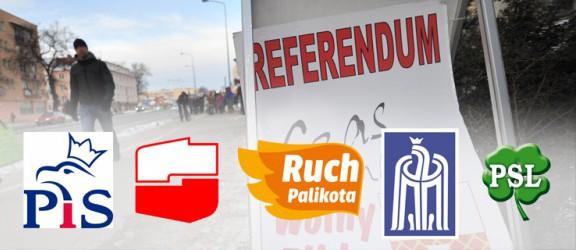 Elbląscy politycy wypowiadają się o referendum - wywiady z przedstawicielami SLD, PiS, RP, SD i PSL