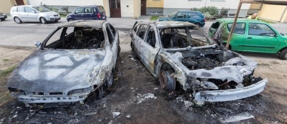 Zatrzymany sprawca podpalenia aut