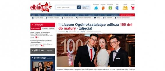 """Serwis """"Studniówki 2016"""" już uruchomiony!"""