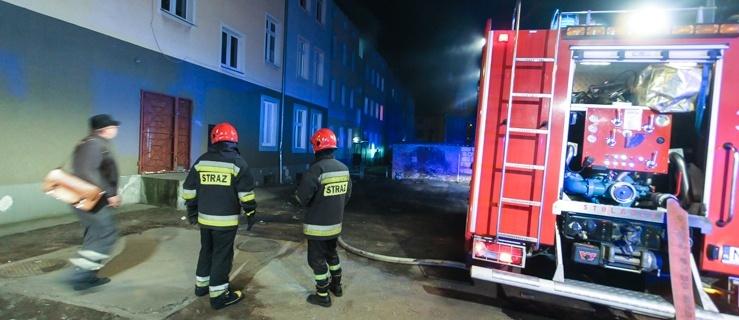 Pożar mieszkania na ul. Żeromskiego