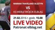 LIVE VIDEO: OKPR Warmia Traveland Olsztyn vs. KS Meble Wójcik Elbląg