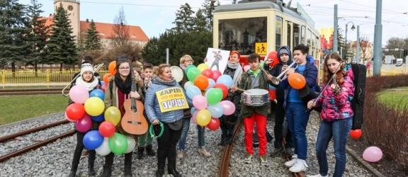 Rozśpiewany tramwaj Szkoły Muzycznej