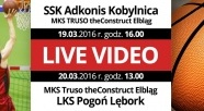 LIVE VIDEO: Adkonis vs. Truso / Truso vs. Pogoń