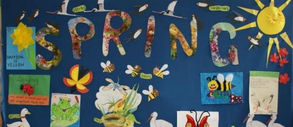 """""""Spring Day"""", czyli wiosennie, kolorowo i językowo w SP nr 11"""