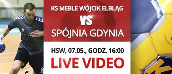 LIVE VIDEO: KS Meble Wójcik Elbląg - Spójnia Gdynia