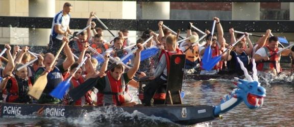 III Wyścigi smoczych łodzi na rzece Elbląg