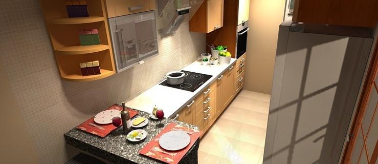 Jak urządzić małą kuchnię w bloku? -> Kuchnie W Bloku Jak Urzadzic