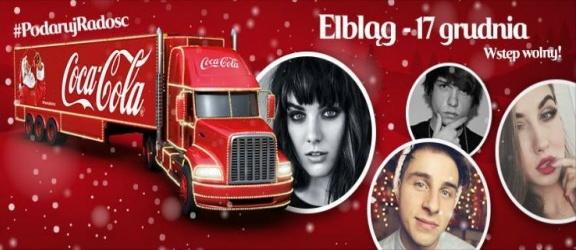 Świąteczne Ciężarówki Coca-Cola odwiedzą Elbląg!