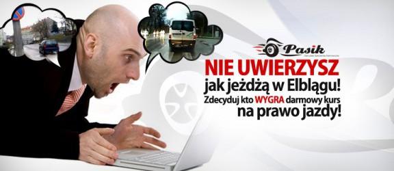Nie uwierzysz jak jeżdżą po Elblągu! Wygraj darmowe prawo jazdy cz.2!