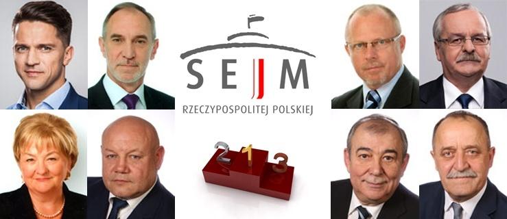 Podsumowanie roku pracy posłów z okręgu 34 w Sejmie