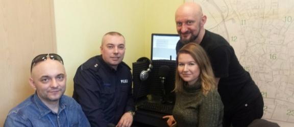 Szkolenie radiowe dla rzeczników policji w radiu ESKA