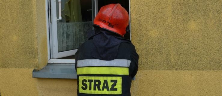 Akcja strażaków na Grochowskiej (+ zdjęcia)