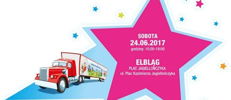 Ciężarówka Kinder JOY wraca do Elbląga!
