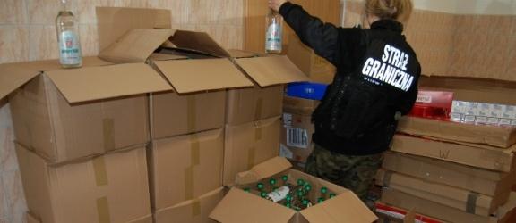 Kontrabanda na giełdzie towarowej: prawie 300 litrów spirytusu i 20 kg tytoniu