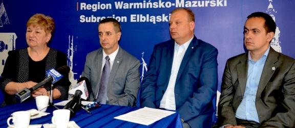 O możliwości odpłatnych świadczeń w publicznych szpitalach na konferencji PO w Elblągu