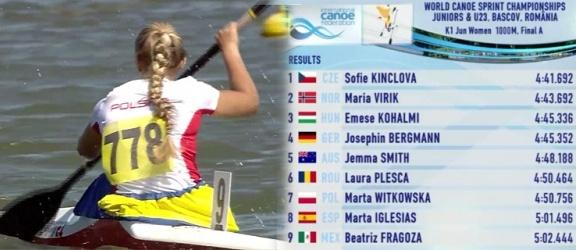 Marta Witkowska dzielnie walczyła o medal na mistrzostwach świata