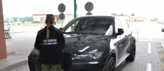 BMW warte 90 tys. zł zatrzymane przez Straż Graniczną w Grzechotkach