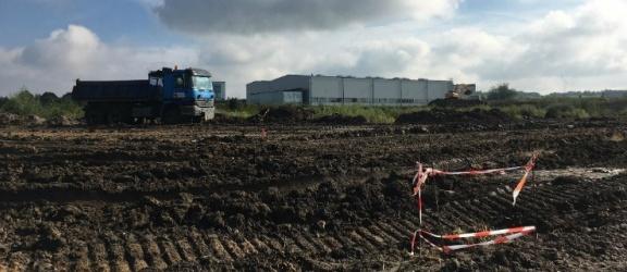 Elbląska firma rozpoczęła budowę fabryki na Modrzewinie!