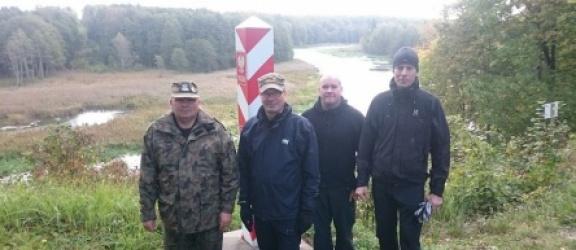 Przyjaciele na naszej granicy pod Braniewem