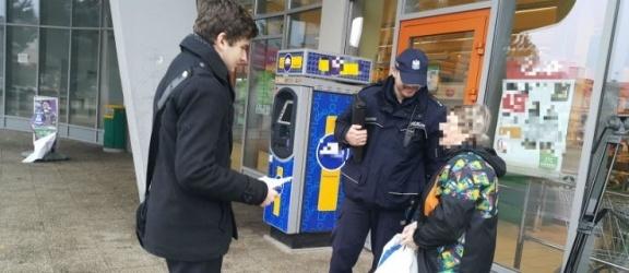 Jutro (26.10) uczniowie przepytają elblążan jak oceniają pracę policji