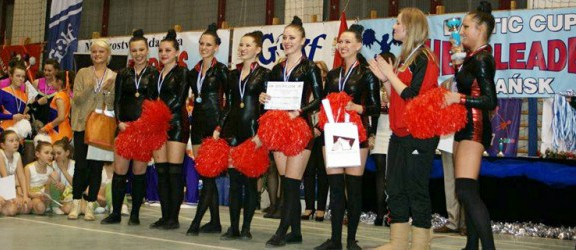 Elbląskie cheerleaderki zdobyły trzy złote medale Grand Prix Polski!