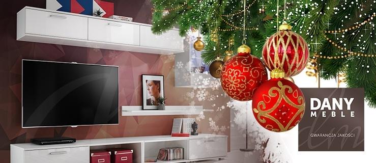 Świąteczna wyprzedaż w Dany Meble. Meblościanka Dorota o 30% taniej + ledy i montaż gratis