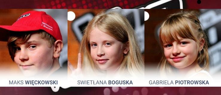 Wystartował plebiscyt The Voice Kids. Oddajcie głos na Gabrielę, Swietłanę i Maksa z Elbląga!