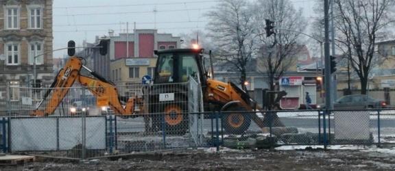 Rozpoczęła się przebudowa skrzyżowania Al. Grunwaldzkiej z ul. Mickiewicza