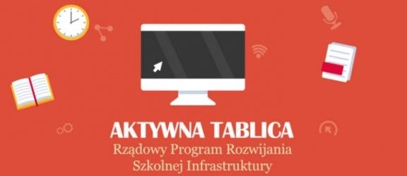 """Rządowy program """"Aktywna tablica"""" – terminy w roku 2018"""