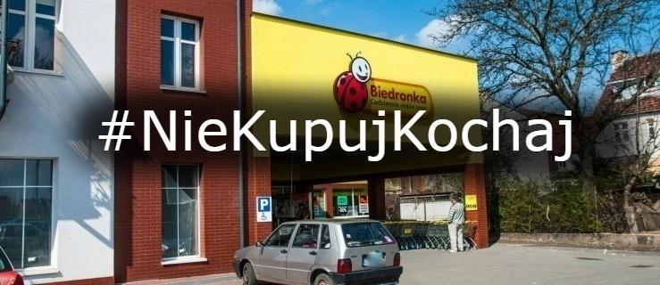 #NieKupujKochaj – nowa akcja pracowników Biedronki